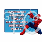Ultimate Spider-man Personalized Party Favors