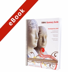 2017 LEAP DSM-5 Masters Summary Guide eBook Version