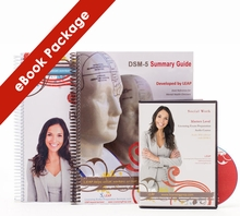 2018 LEAP Masters Comprehensive Study Guide PLUS Audio Course AND DSM-5 Summary Guide eBook Package
