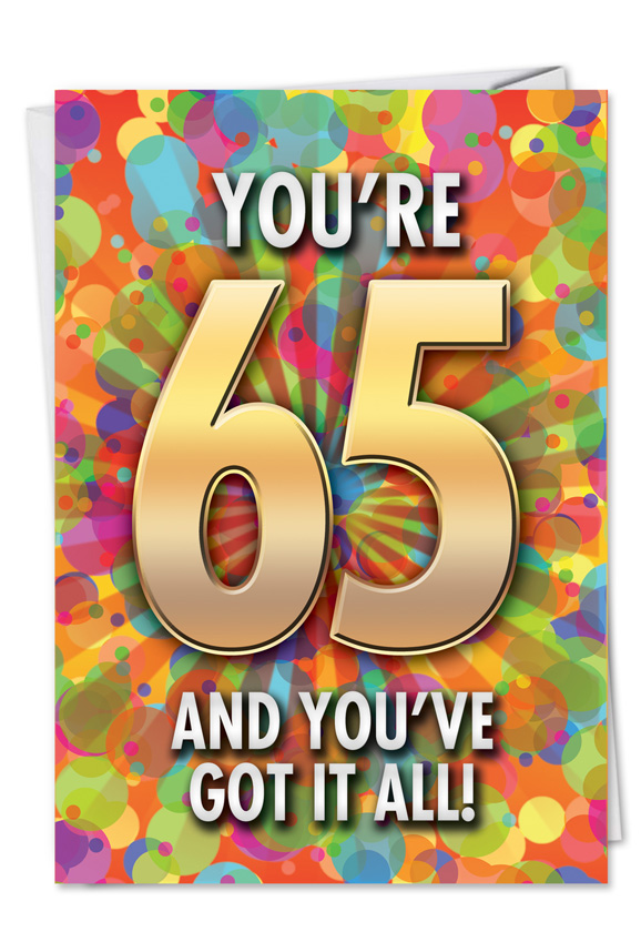 Hysterical Birthday Paper Card From NobleWorksCards