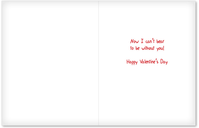 Humorous Valentines Day Jumbo Greeting Card From NobleWorksCards