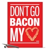 Bacon My Heart Card