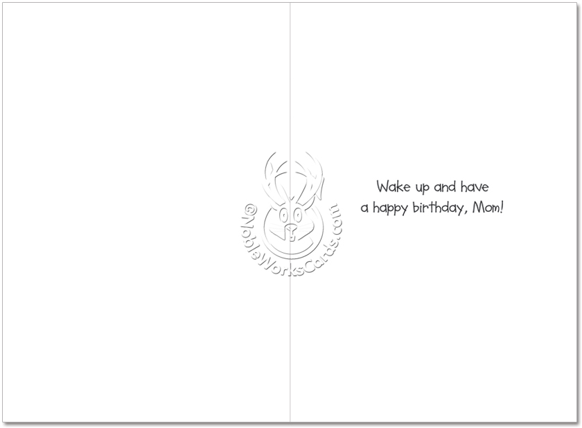 Biker chick tattoo cartoons birthday mother card jerry king funny birthday mother printed card by jerry king from nobleworkscards biker chick tattoo bookmarktalkfo Image collections