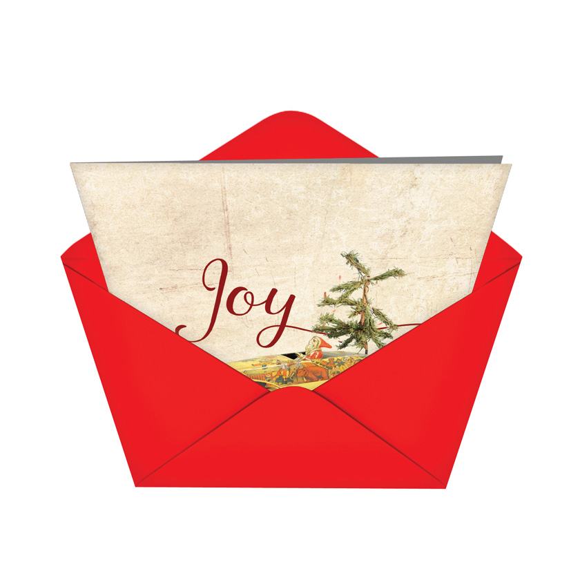 Christmas Antiquities Nobleworks By Design Christmas Card