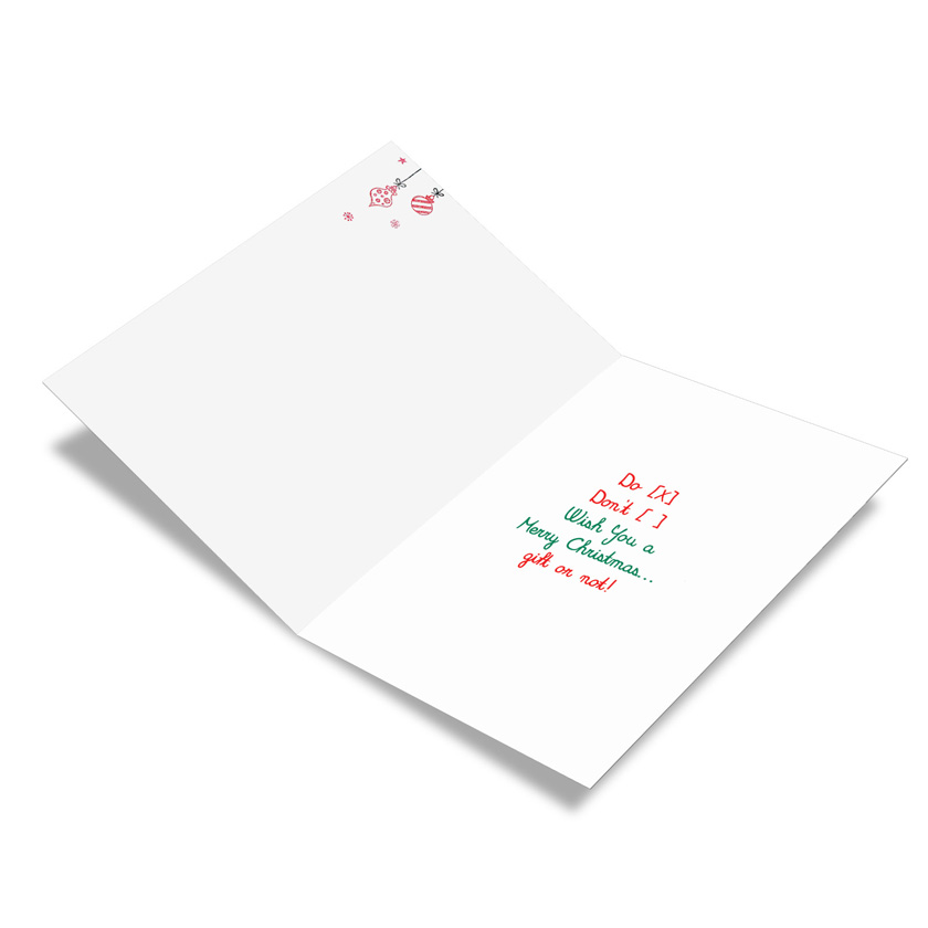 Christmas gift list red rocket christmas paper card nobleworks funny christmas greeting card from nobleworkscards christmas gift list image 1 m4hsunfo