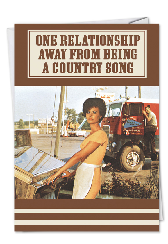 Country Song Friends Card