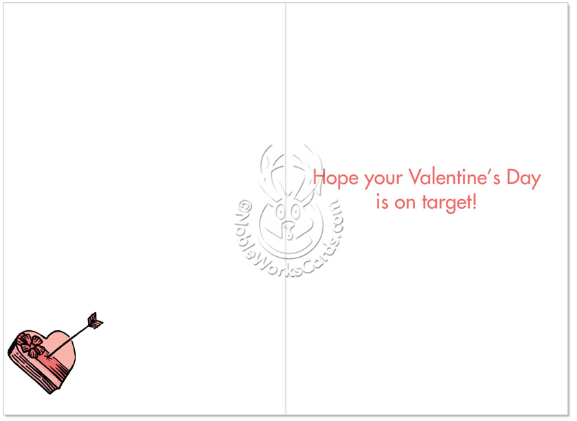 Hilarious Valentines Day Printed Greeting Card By Dan Piraro From NobleWorksCards