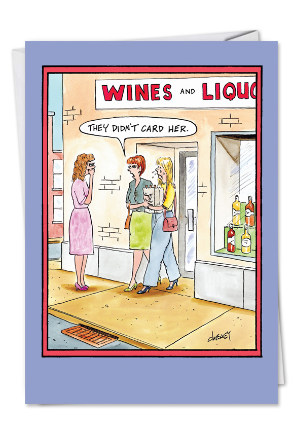 Funny Birthday Greeting Card By Tom Cheney From NobleWorksCards