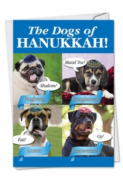 greeting paws ing to wish you a happy hanukkah - Funny Hanukkah Cards