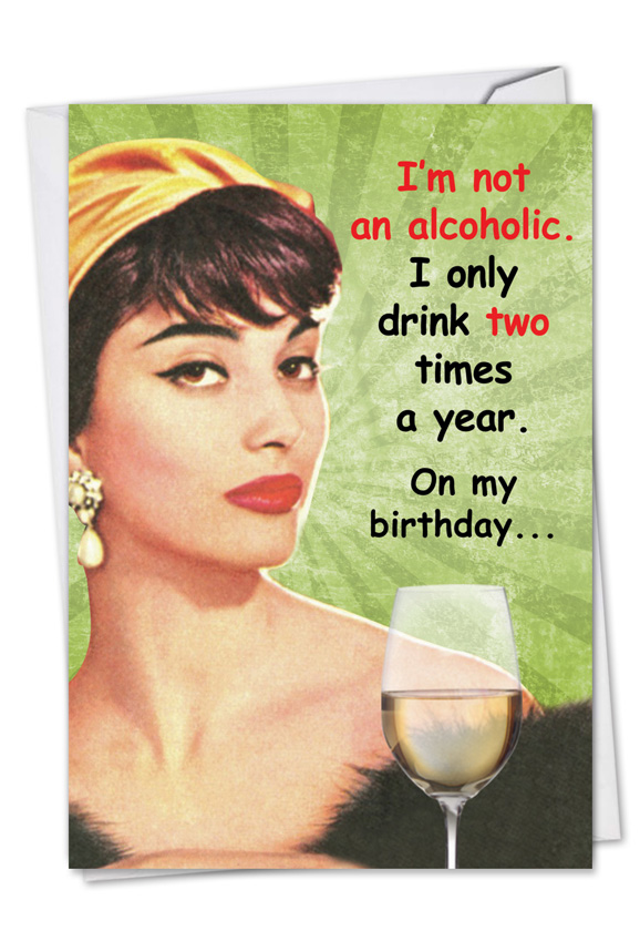 Funny Ill Be A Stripper Birthday Card Nobleworks
