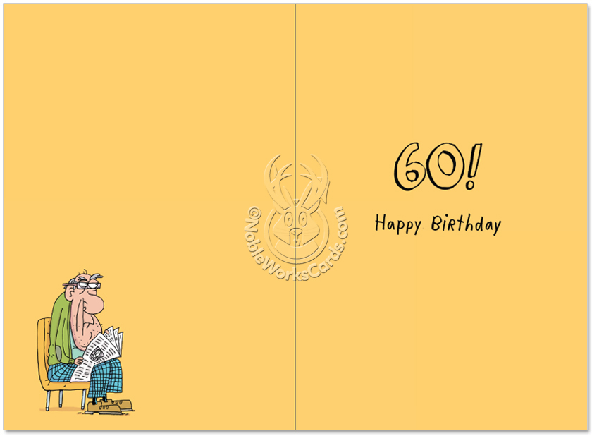 Early To Bed 60 Cartoons Birthday Card Stan Makowski – Happy Early Birthday Card