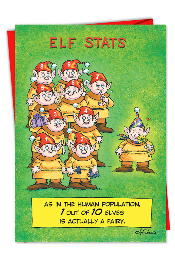 funny christmas cards stats greeting card nobleworks 31209