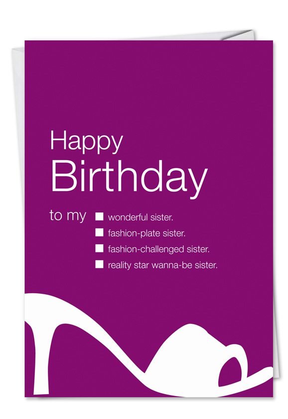 Hilarious Birthday Paper Greeting Card By Udecide From NobleWorksCards