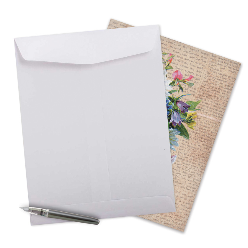 Flower press mothers day paper greeting card stylish mothers day jumbo printed card from nobleworkscards flower press image 2 mightylinksfo