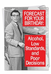 Forecast For Tonight Card