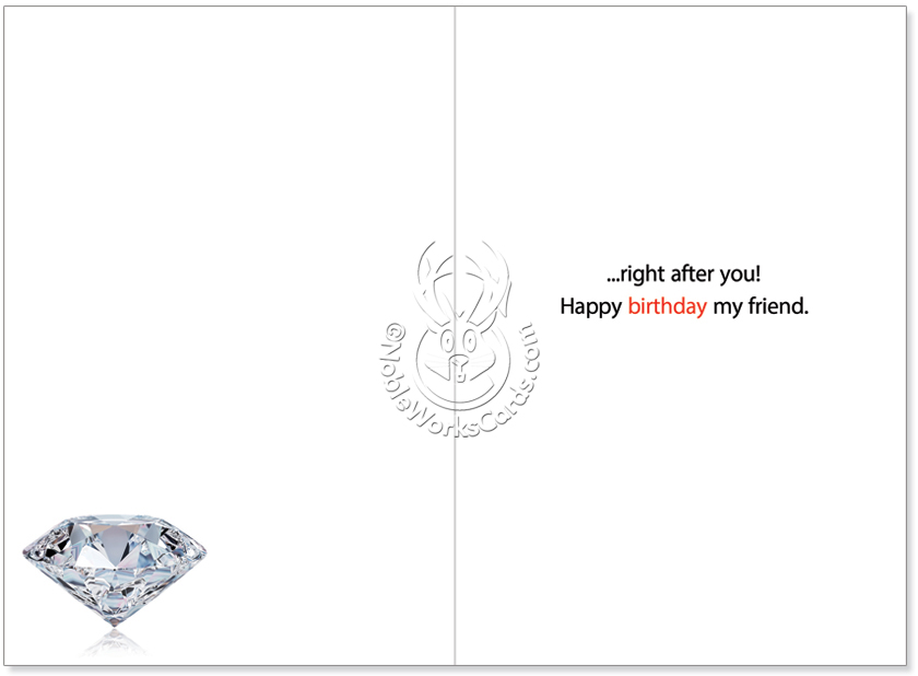 Humorous Birthday Greeting Card By Jadei Graphics From NobleWorksCards