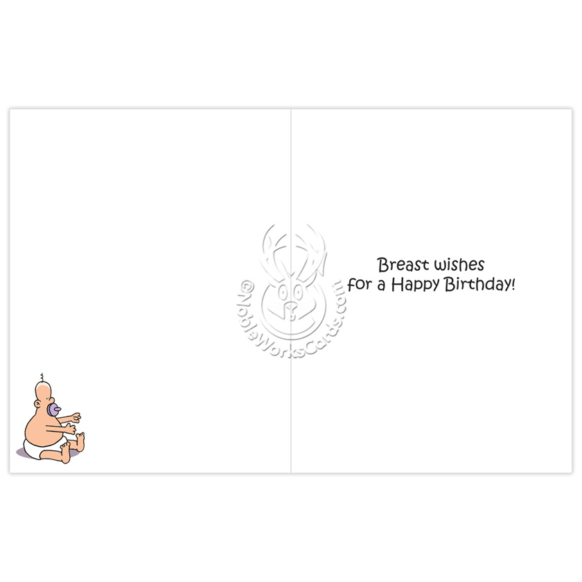Low hang boob do card greeting your