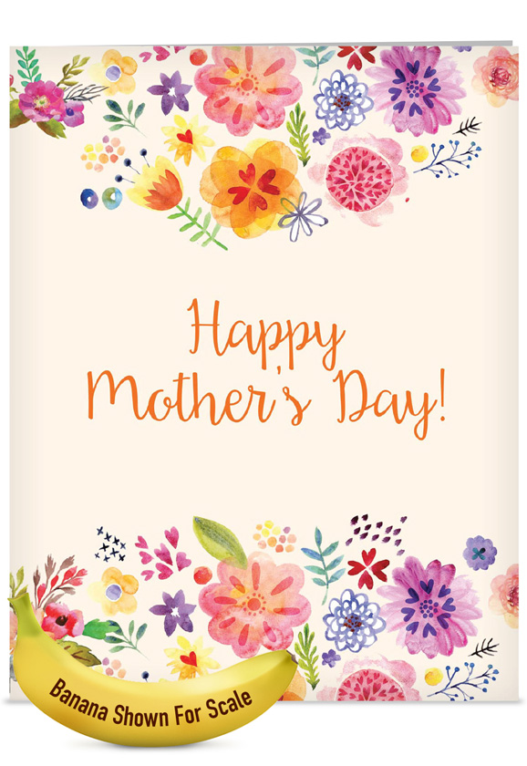 Grateful greetings nobleworks by design jumbo mothers day card creative mothers day jumbo paper greeting card from nobleworkscards grateful greetings m4hsunfo
