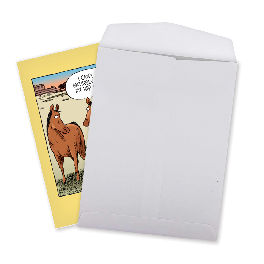 Horse Hip Replacement: Humorous Get Well Extra Large Paper