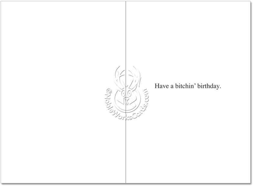 Its Your Birthday Funny Birthday Card