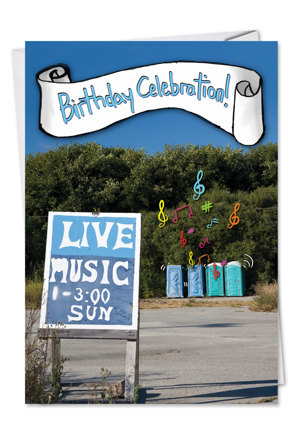 Hilarious Birthday Greeting Card From NobleWorksCards