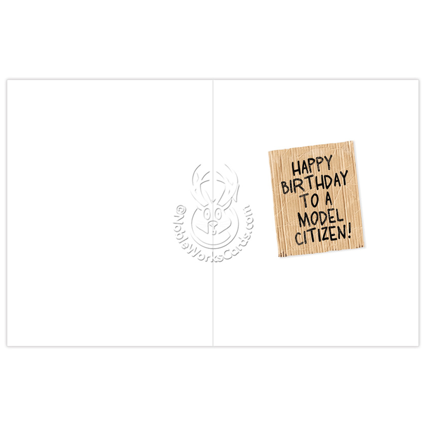 Lost my job political birthday card nobleworks funny birthday jumbo greeting card from nobleworkscards lost my job image 1 m4hsunfo