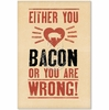 Love Bacon Card