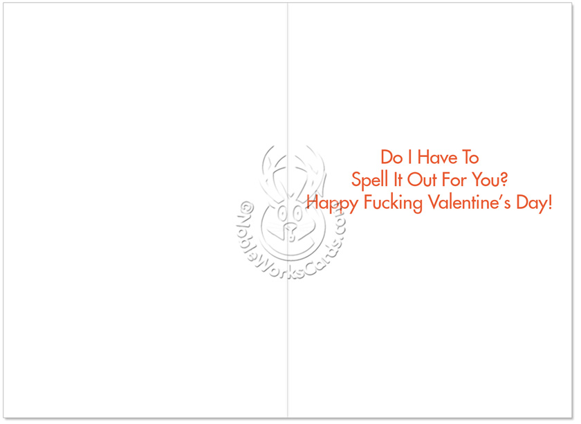 Love In Jeopardy Valentineu0027s Day Card By Nobleworks Image 1 ...