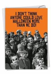 Humor greetings halloween cards greeting except maybe a dentist 5 out of 5 dentists agree happy halloween m4hsunfo