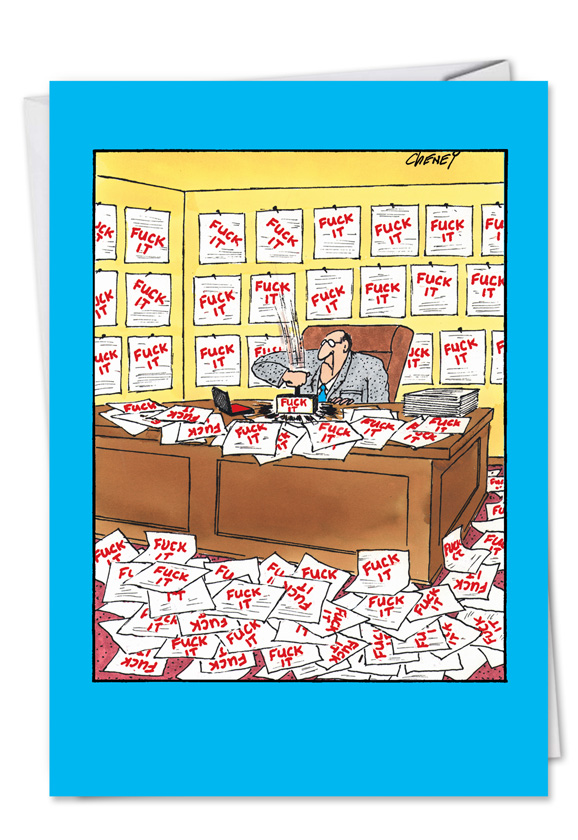 Hilarious Birthday Greeting Card By Tom Cheney From NobleWorksCards