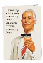 May Cause Memory Loss Card