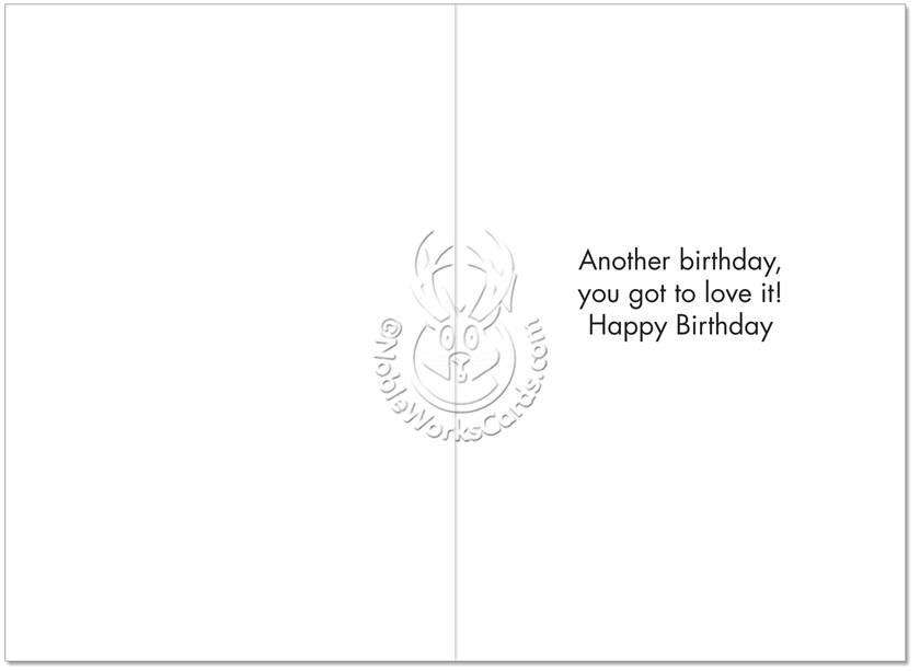 Hysterical Birthday Printed Card By Ephemera From NobleWorksCards