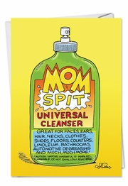 Mom Spit Card