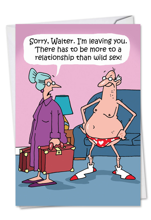 More To A Relationship Cartoons Valentine S Day Card D T Walsh