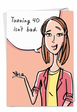 40th birthday cards humor funny adult