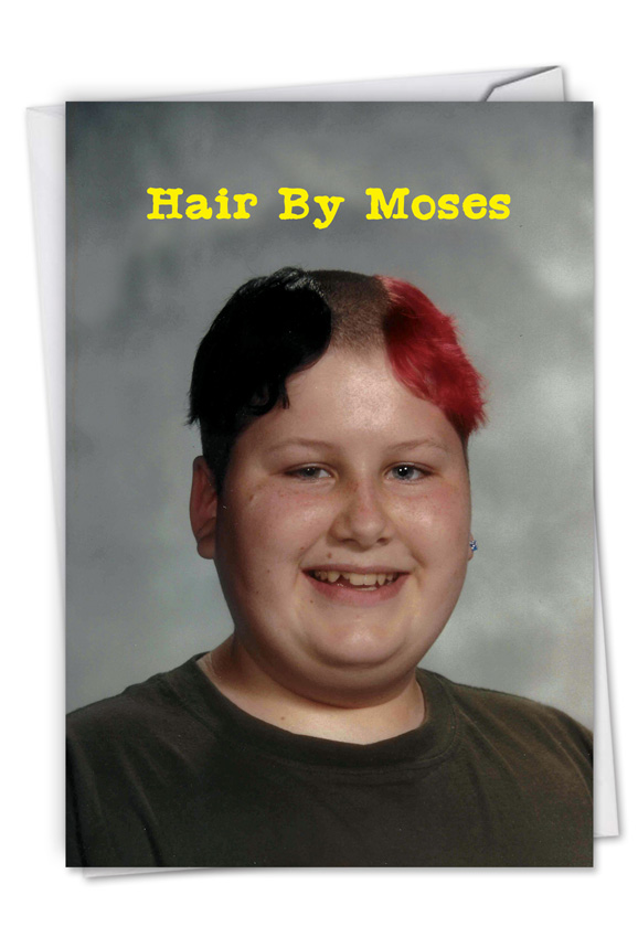 Moses hair awkward family photos birthday greeting card by mike bender funny birthday greeting card by awkward family photos from nobleworkscards moses hair m4hsunfo