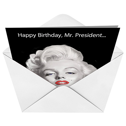 Funny Mr President Birthday Joke Paper Card – Birthday Cards from the President