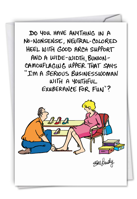Funny Birthday Card By Bell Lundy Sandra From NobleWorksCards