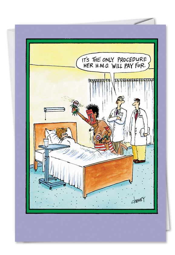 Obamacare Will Pay Funny Get Well Card