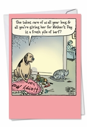Pet gifts mothers day card nobleworks greeting happy mothers day m4hsunfo