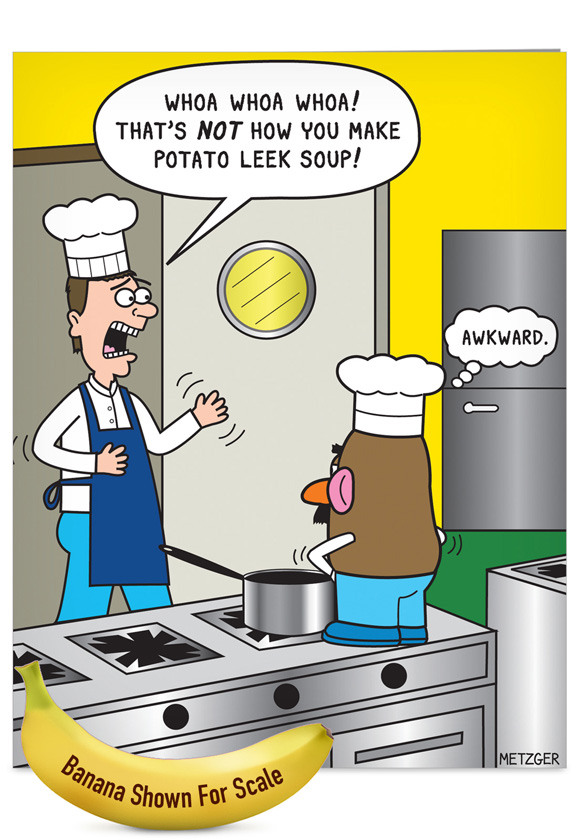 Soup Kitchen Cartoon