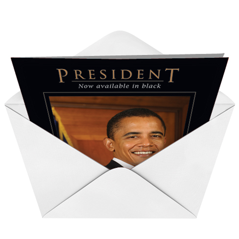 how to get a birthday card from president obama