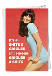 Funny Retro Greeting Cards By Ephemera