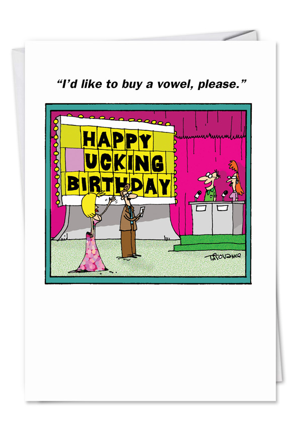 Spell It Out Birthday Card Nobleworkscards