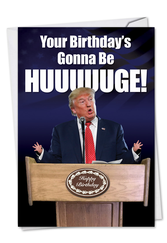 Diddly Squats Birthday Funny Paper Card