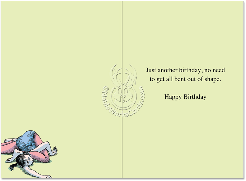 Hilarious Birthday Paper Greeting Card By Dan Piraro From NobleWorksCards