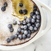 Blueberry Lemon Sugar Wickless Tart