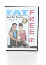 Fat Free DVD Series - Volume Two Lower Body Reduction