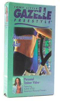 Gazelle Freestyle Awesome Abs Video - VHS