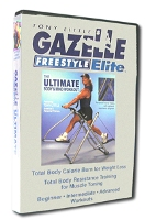 Gazelle Freestyle Elite Ultimate Mind and Body Workout DVD + FREE SHIPPING